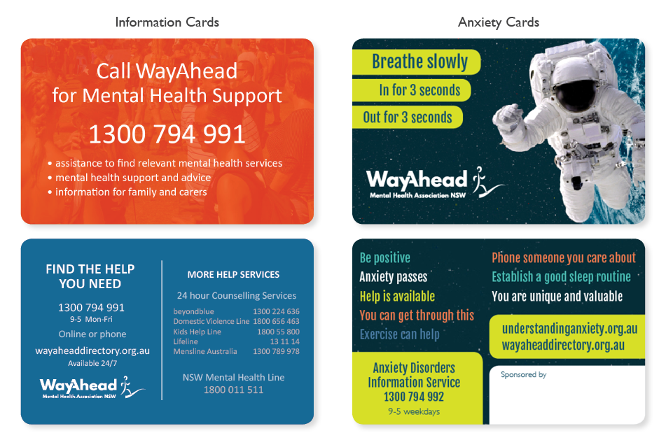 Information and Anxiety Cards