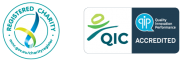 Registered Charity and QIP Logos